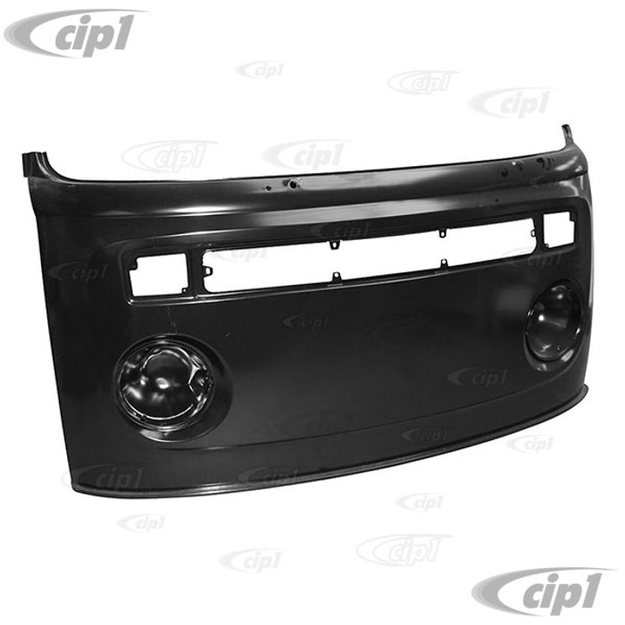 VWC-211-805-031-J - (211805031J) NEW TOOLING - COMPLETE FRONT NOSE PANEL WITH HEADLIGHT BUCKETS - FROM BELOW WINDOW TO BOTTOM - BUS 73-79 - SOLD EACH