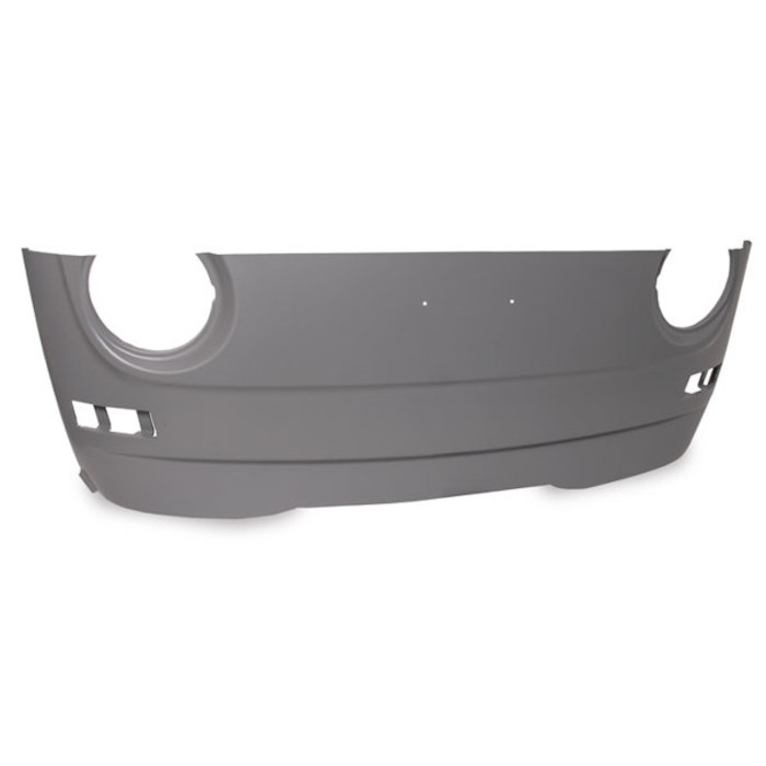 VWC-211-805-035-HLTQ - (211805035H) EXCELLENT REPRODUCTION - LOWER FRONT NOSE PANEL SECTION - VW BUS 68-72 - SOLD EACH