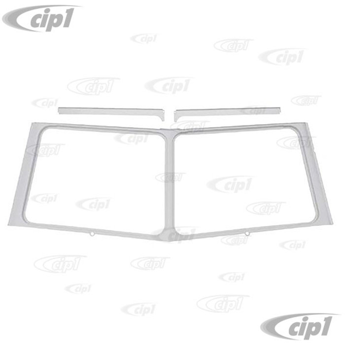 VWC-211-805-039-C - (211805039) EXCELLENT REPRODUCTION - COMPLETE WINDSHIELD SURROUND WITH INNER UPPER REINFORCEMENTS - BUS 55-67 - SOLD EACH