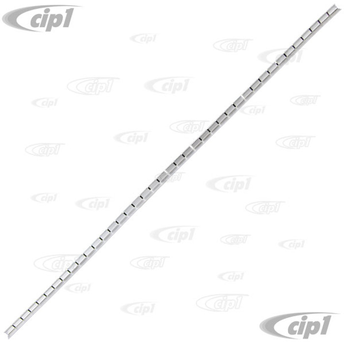 VWC-211-817-216 - (211817216) - EXCELLENT QUALITY REPRODUCTION (MADE IN THE U.K.) HEADLINER GRIP STRIP SECURES TO FRESH AIR BOX AND SUNROOF OPENING ONLY - 800MM - BUS 55-79 - SOLD EACH