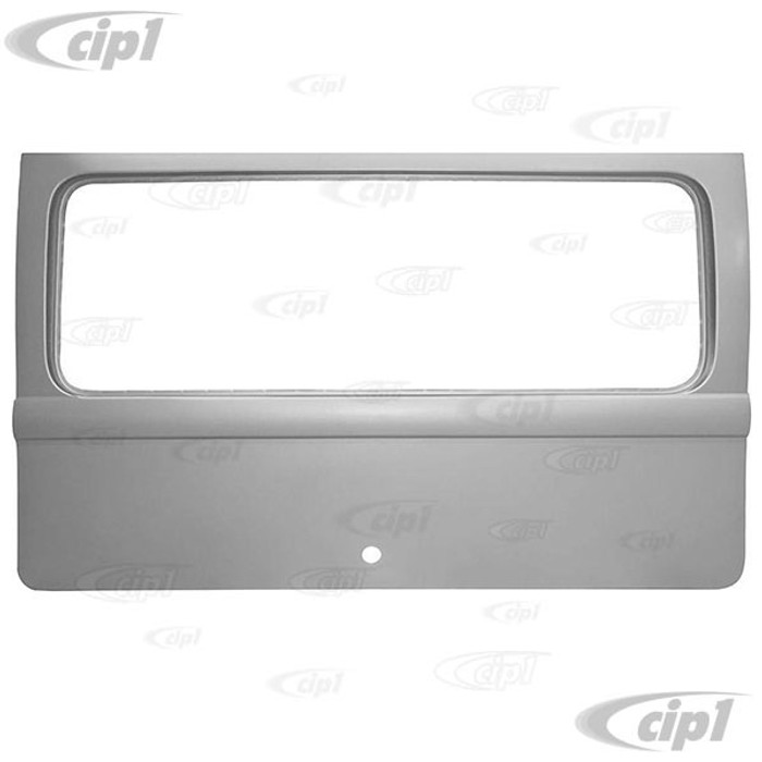 VWC-211-829-105-Q - (211829105) EXCELLENT REPRODUCTION - REAR TAILGATE HATCH WITH LARGE WINDOW OPENING - BUS 64-66 - SOLD EACH