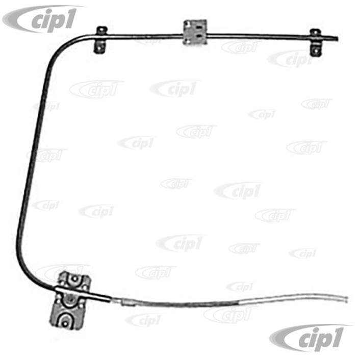 VWC-211-837-502 - (211837502) QUALITY REPRODUCTION - DOOR WINDOW REGULATOR - RIGHT - BUS 68-79 - SOLD EACH