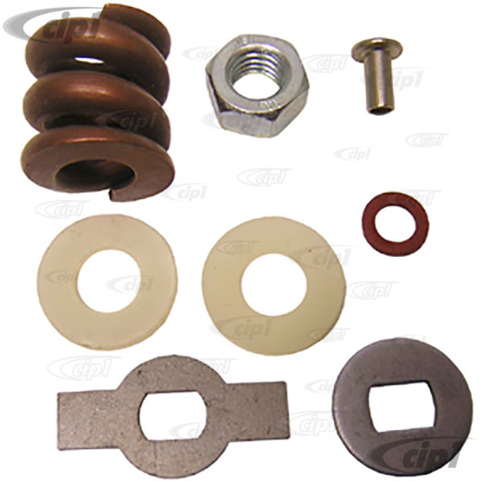 VWC-211-837-685 - VENT WING WINDOW HARDWARE KIT - LEFT OR RIGHT - BUS 55-67 - SOLD EACH