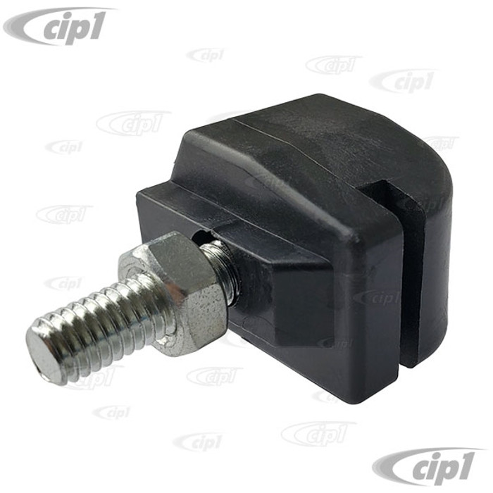 VWC-211-843-368-KT (211843368) - PLASTIC GUIDE BUSHING - SLIDING DOOR HINGE WITH NUT AND BOLT - BUS 68-79 - SOLD EACH