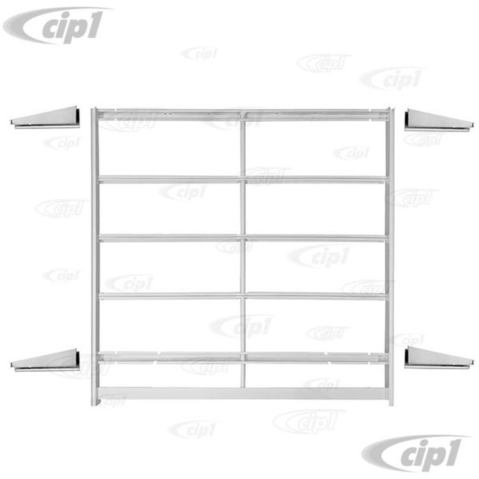 VWC-211-898-361-AKT - COMPLETE SUPPORT FRAME UNDER RIBBING - ASSEMBLY WITH OUTRIGGERS - BUS 1/60-67 - SOLD ASSEMBLY