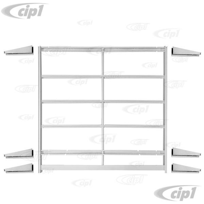 VWC-211-898-361-KT - COMPLETE SUPPORT FRAME UNDER RIBBING - ASSEMBLY WITH OUTRIGGERS - BUS 03/55-12/59 - SOLD ASSEMBLY