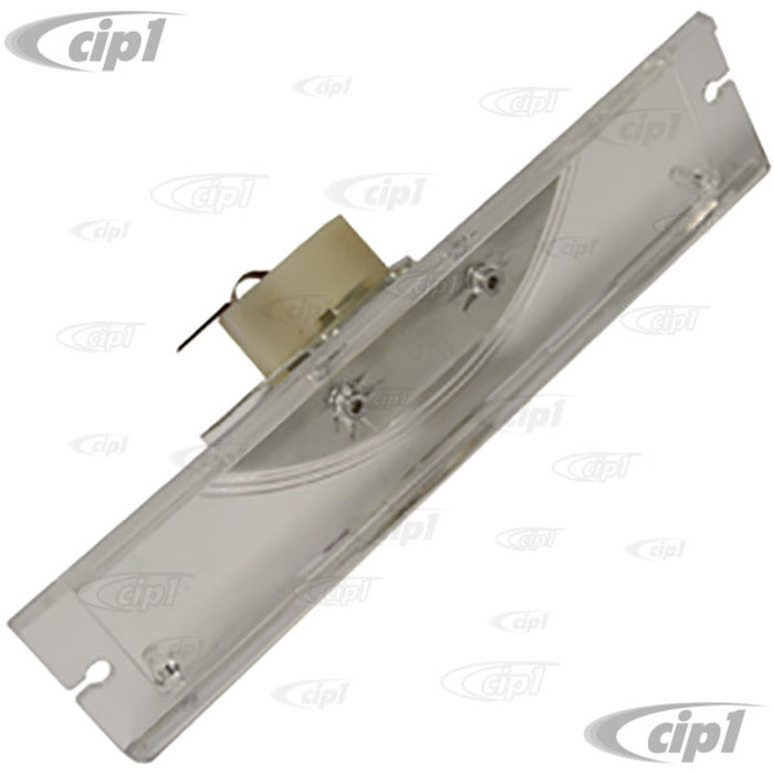 VWC-211-943-161-E - (211943161D) - EXCELLENT QUALITY - LICENSE PLATE LIGHT ASSEMBLY WITH LENS AND BULB HOLDER - BUS 72-79 - SOLD EACH