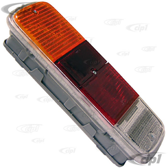 VWC-211-945-241-RK - (211-900-145 211900145G) GOOD REPRODUCTION - BUS TAIL LIGHT ASSEMBLY LEFT OR RIGHT (LIGHT BULBS / SEALS SOLD SEP.) - BUS 72-79 - SOLD EACH