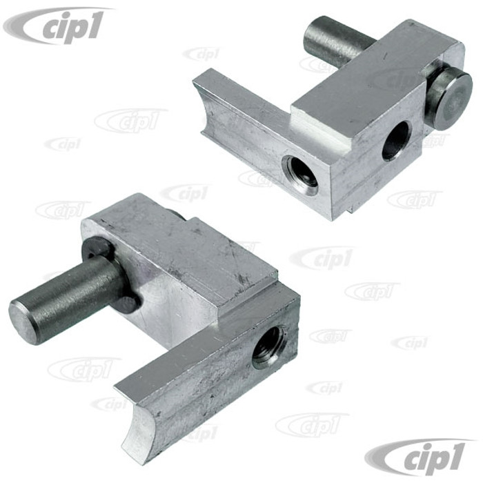 VWC-211-955-225-CPR - (211955225C) EXCELLENT QUALITY - PAIR OF SAFARI WINDOW WIPER SHAFT ADAPTER PIVOTS - BUS 65-67 - SOLD PAIR