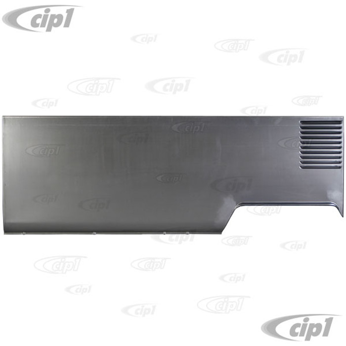 VWC-221-809-101-F - (221809101F) BEST QUALITY MADE BY AUTOCRAFT IN U.K. - SIDE PANEL LONG LEFT (LHD) - BUS FROM CHASSIS #1080104 63-67 - SOLD EACH