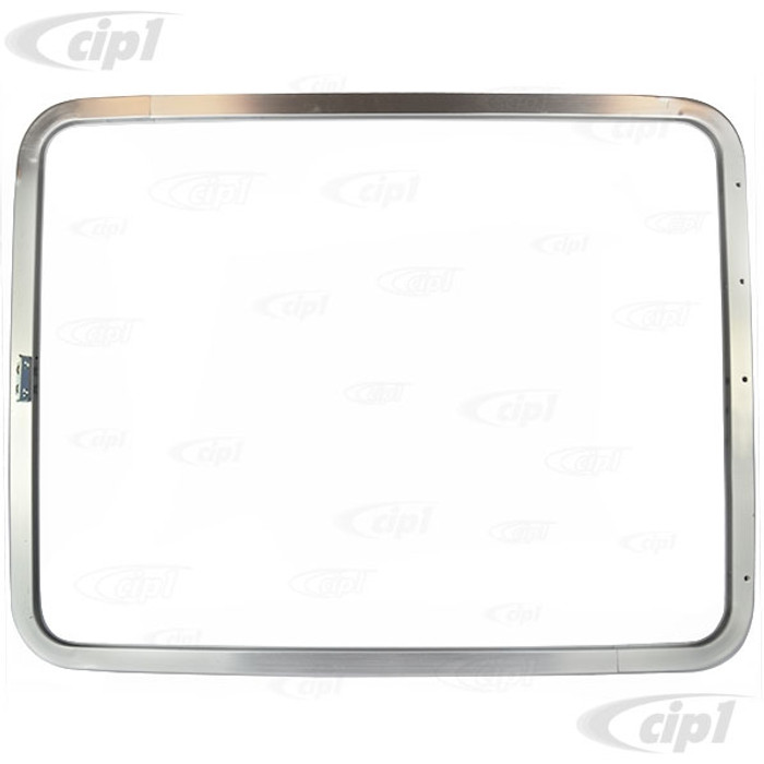 VWC-221-847-105-F - (221847105F) EXCELLENT QUALITY - ANODIZED ALUMINIUM POP-OUT WINDOW FRAME (WITHOUT GLASS OR SEALS) - BUS 55-67 - SOLD EACH