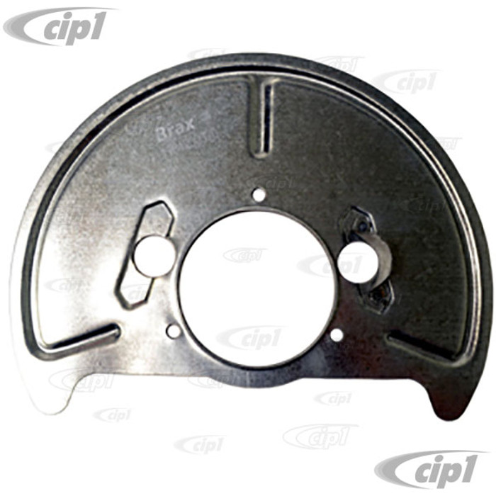 VWC-251-407-339-A - BRAKE BACKING PLATE/DUST COVER – LEFT FRONT - VANAGON 86-91 (EX.SYNCRO)  - SOLD EACH