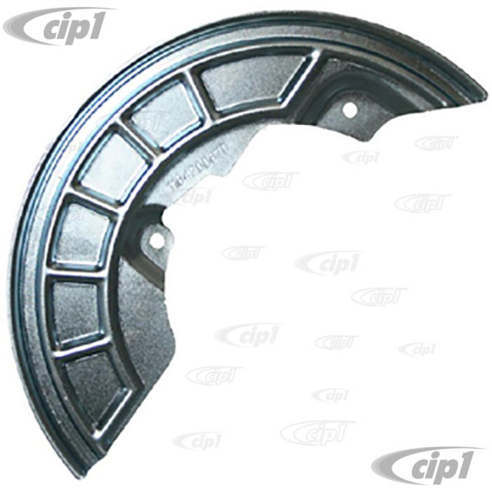 VWC-251-407-343-D - BRAKE BACKING PLATE/DUST COVER – LEFT FRONT - VANAGON 85-91 (SYNCRO ONLY) - SOLD EACH