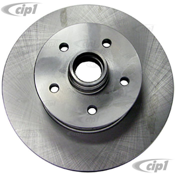 VWC-251-407-617-A - (251407617A) GERMAN QUALITY - FRONT BRAKE DISC / ROTOR - WITHOUT ABS BRAKING - VANAGON 80-85 - SOLD EACH