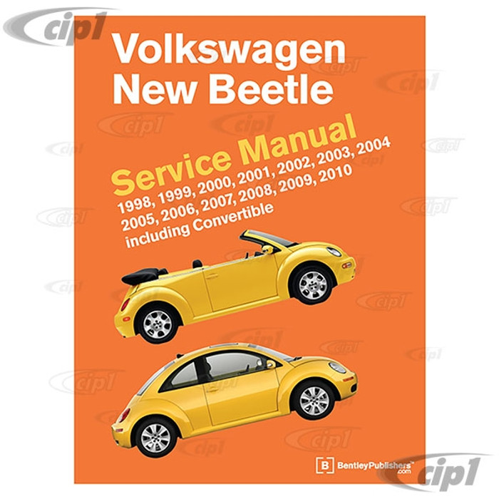 ACC-C30-9670 - (VB10) 98-2010 NEW BEETLE SERVICE MANUAL - SOLD EACH