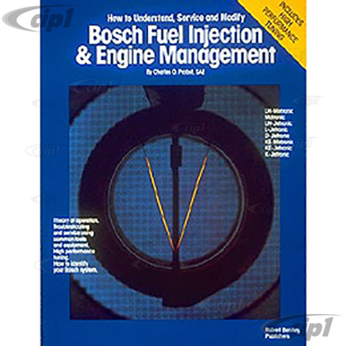 ACC-C30-9690 - (GFIB) BOSCH FUEL INJECTION AND ENGINE MANAGEMENT - BENTLEY SERVICE MANUAL - SOLD EACH