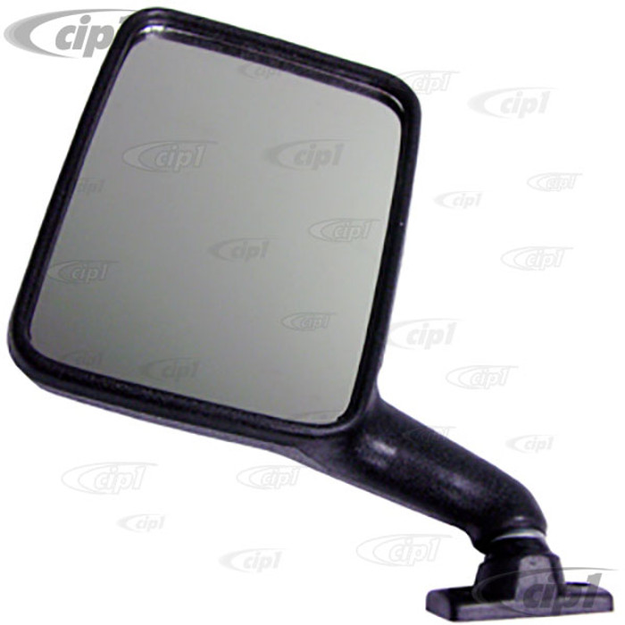 VWC-251-857-513-X - (251857513) GOOD REPRODUCTION - BLACK OUTSIDE MIRROR LEFT - VANAGON 80-91 - SOLD EACH