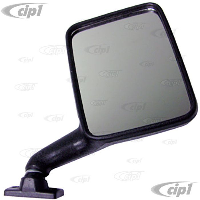 VWC-251-857-514-X - (251857514) GOOD REPRODUCTION - BLACK OUTSIDE MIRROR RIGHT - VANAGON 80-91 - SOLD EACH
