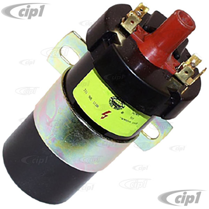 VWC-251-905-115-A - (251905115A) 12 VOLT IGNITION COIL - VANAGON 84-91 - PLUS VARIOUS WATERCOOLED CARS 84-92 - SOLD EACH