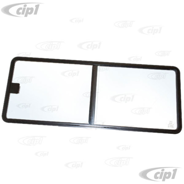 VWC-253-847-708 - (253847708) JK BRAND J40249 - SLIDING WINDOW FOR THE RIGHT MIDDLE INSIDE SLIDING DOOR - LHD WITH SEAL (WINDOW MEASURES 1043.5MM LONG) - VANAGON 85-91 - SOLD EACH