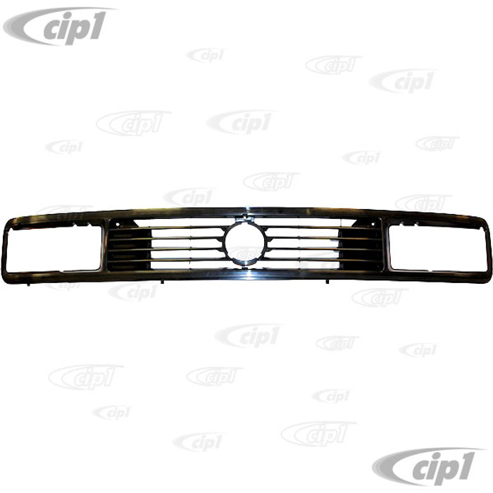 VWC-255-853-652-K - (255853652K) QUALITY REPRODUCTION - FRONT GRILL USING SQUARE HEADLIGHTS USES 125MM - 4.9 INCH EMBLEM - VANAGON 86-91 - SOLD EACH