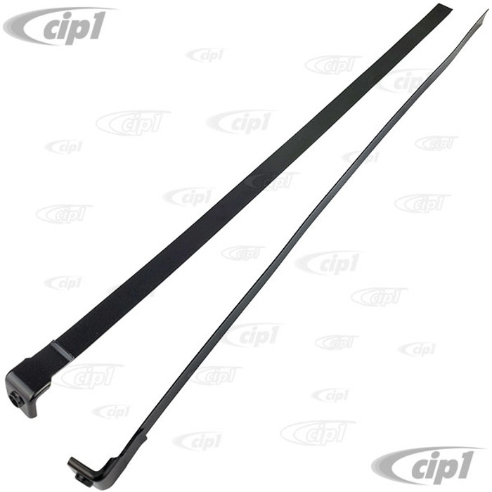VWC-261-201-651 - (261201651) - METAL FUEL TANK HOLD DOWN/MOUNTING STRAPS - BUS 55-67 - SOLD PAIR