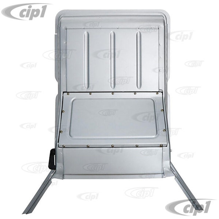 VWC-261-817-705 - (261817705) SILVER WELD-THROUGH HIGH QUALITY SHEET METAL - FRESH AIR BOX ASSEMBLY - TYPE-2 PICK-UP 55-67 - SOLD EACH