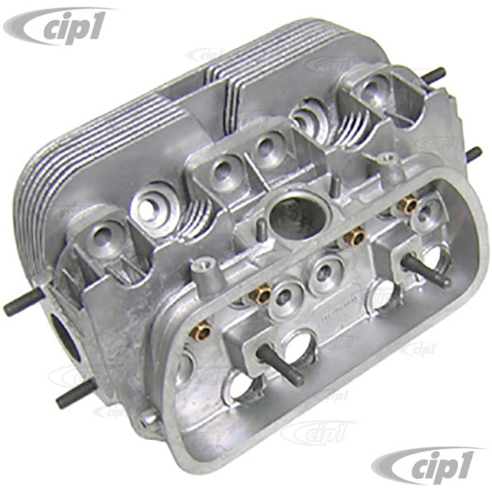 VWC-311-101-353-A - (311101353A) NEW BARE SINGLE PORT CYLINDER HEAD - ALL 15-1600CC BEETLE STYLE SINGLE PORT ENGINE (VALVES & SPRINGS SOLD SEP.) SOLD EACH
