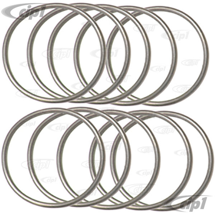 VWC-311-105-295-A10 - SET OF 10 - FLYWHEEL O-RING SEALS - 40HP 12-1600CC BEETLE STYLE ENGINES - SOLD SET OF 10
