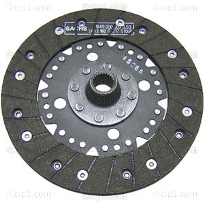VWC-311-141-031-B - GENUINE SACHS - 200MM RIGID CLUTCH DISC - BEETLE 67-79 / GHIA 67-74 / BUS 65-71 / TYPE-3 67-74