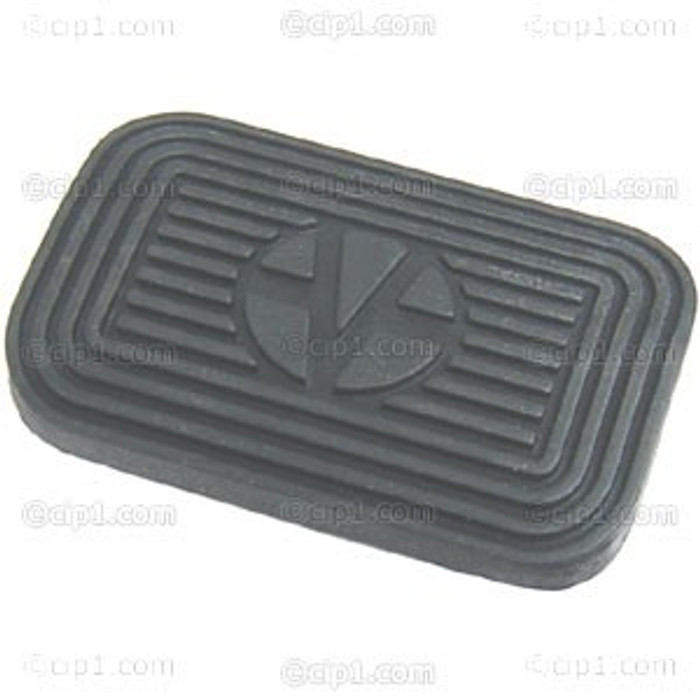VWC-311-723-173-A - BRAKE PEDAL PAD- BEETLE/T-3 AUTO 71-77 / BUS 73-79 - 3-5/8 INCH x 2-1/4 INCH (106MM x 60MM) - SOLD EACH