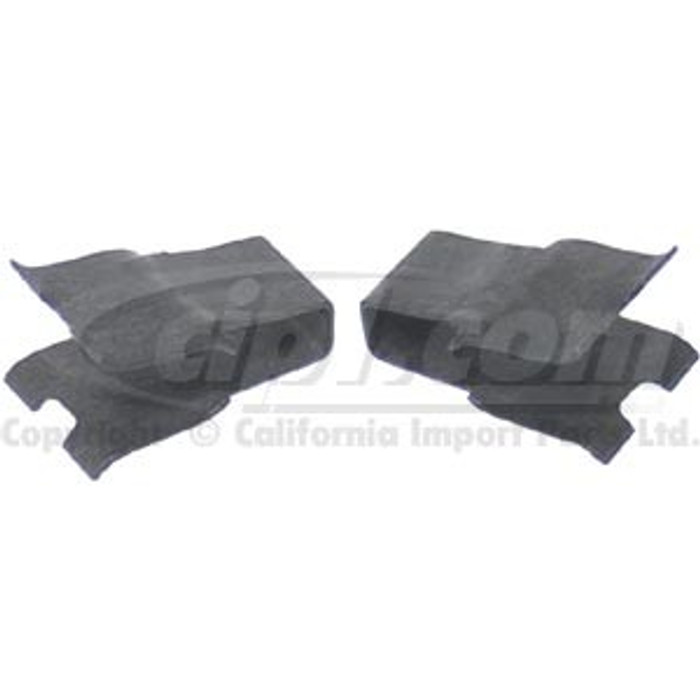 VWC-311-881-247-2 - CLIPS FOR SEAT RELEASE KNOB - L/R PAIR - BEETLE 67-79
