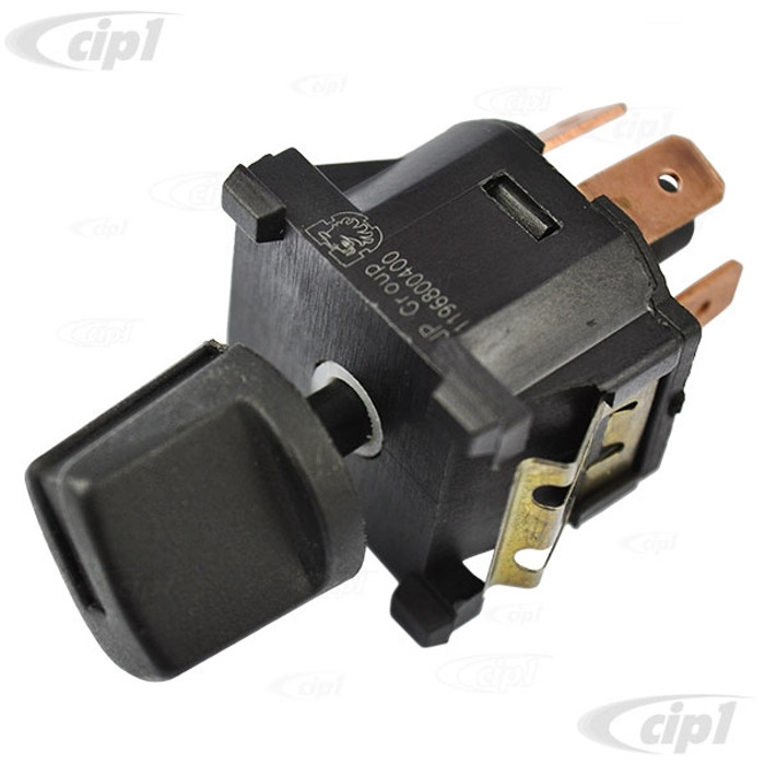 VWC-321-959-511 - (321959511) FAN BLOWER MOTOR SWITCH - 4 SPEED - VANAGON 86-91 - VARIOUS WATER-COOLED MODELS FOR HEATER OR AIR CONDITIONER - SOLD EACH