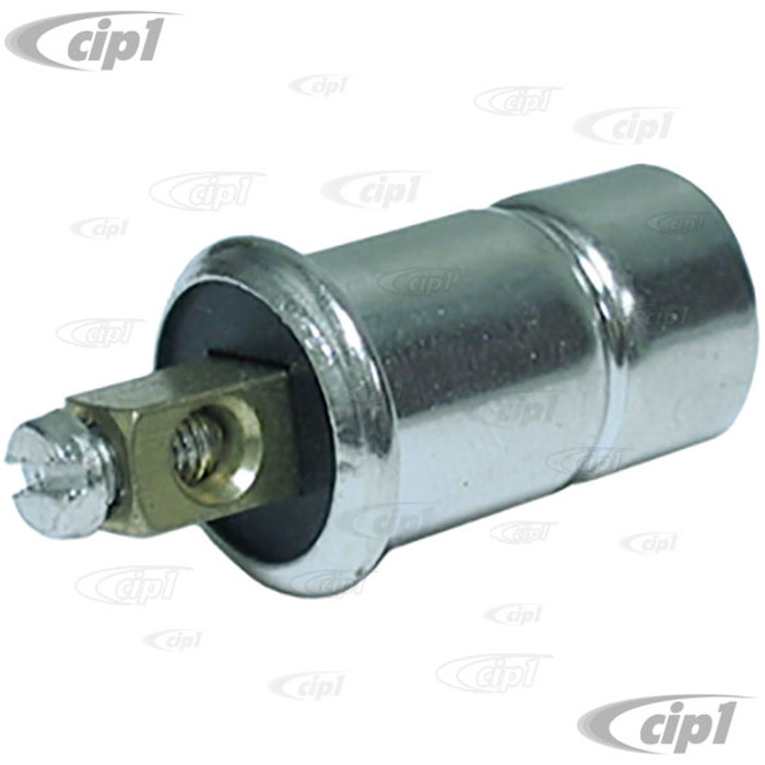 C33-S00922 - (111-957-357 111957357) - GERMAN QUALITY FROM C&C U.K. - DASH LIGHT BULB HOLDER WITH SCREW CONNECTOR - ALL MODELS UP TO 1960 - SOLD EACH