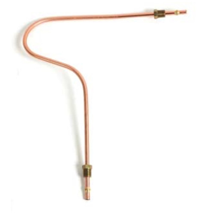VWC-111-127-511-A - (111127511A) METAL FUEL LINE - 6MM - FUEL PUMP TO CARBURETOR - 25 HP OCT/52-53 - ALL 36HP ENGINES - INCLUDES FITTING - SOLD EACH