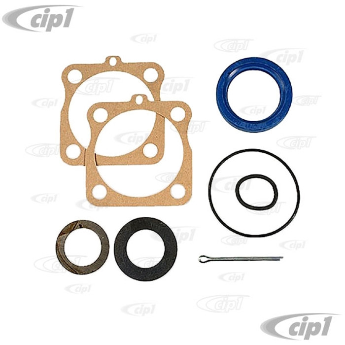 C24-111-598-051-AGR - (311598051 311-598-051) - FROM GERMANY - REAR AXLE SEAL KIT WITH GERMAN HARDEN STEEL SHIMS - BEETLE 46-79/GHIA 56-74/BUS 50-67/TYPE-3 62-74/THING 73-74 - (1 KIT PER SIDE) - SOLD EACH