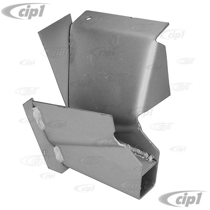 C24-211-703-621 - (211703621) - SILVER WELD-THROUGH HIGH QUALITY METAL - LEFT FRONT JACK SUPPORT - BUS 50-67 - SOLD EACH