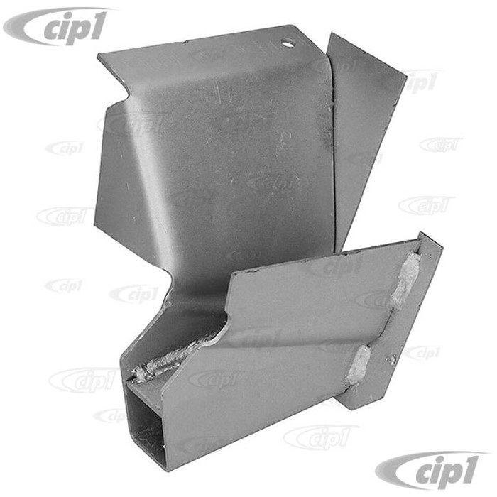 C24-211-703-622 - (211703622) - SILVER WELD-THROUGH HIGH QUALITY METAL - RIGHT FRONT JACK SUPPORT - BUS 50-67 - SOLD EACH