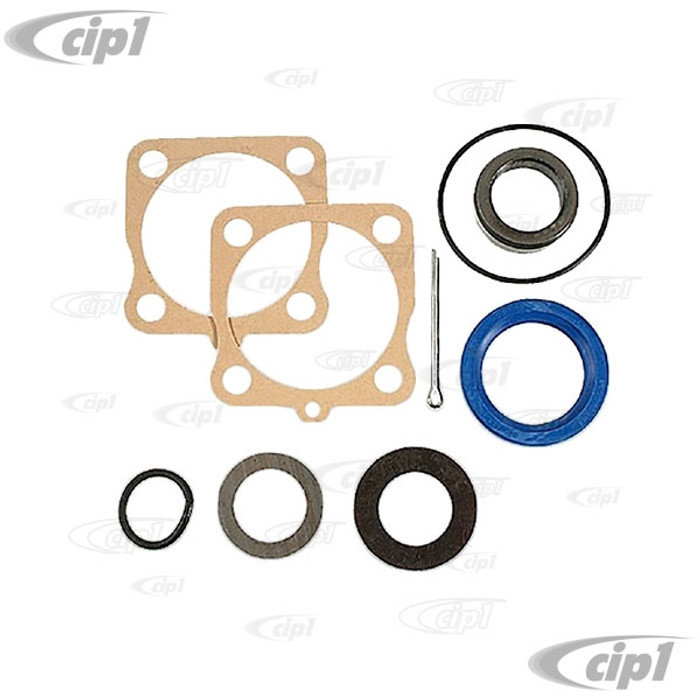 C24-311-598-051-GRDL - (311598051 311-598-051) - GERMAN QUAILITY FROM GERMANY - REAR AXLE SEAL KIT WITH GEN. VW BIG SPACER RING AND GERMAN HARDEN STEEL SHIMS - BEETLE 46-79/GHIA 56-74/BUS 50-67/TYPE-3 62-74/THING 73-74 - SOLD EACH