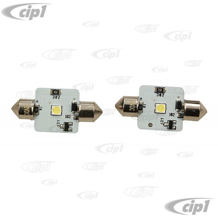 VHD-N17-7261-PRLED - (N177261) - LED SEMAPHORE FLASHING BULBS - 6 VOLT - SOLD PAIR