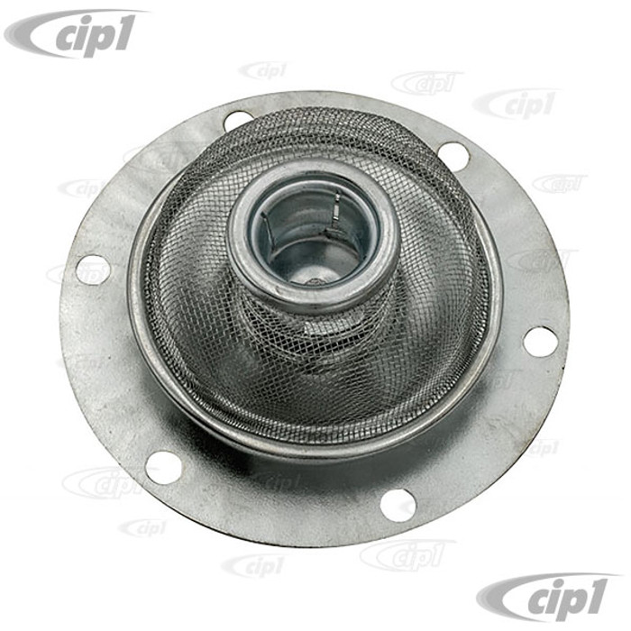 VWC-111-115-175-B - (111115175B) TOP QUALITY OIL STRAINER SCREEN - BEETLE/GHIA 1600CC 70-79 - WITH DUAL RELIEF CASE - SOLD EACH