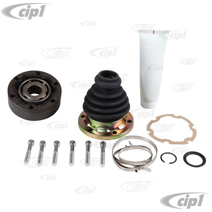 VWC-211-501-331-BKT - (211501331B) EXCELLENT QUALITY - REPLACMENT CV JOINT KIT WITH BOOT - BOLTS AND CLAMPS - BUS 68-79 - VANAGON T25 80-91 - SOLD EACH