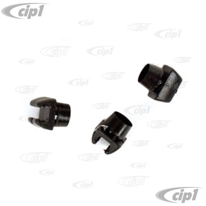 VWC-211-853-619-SET - (211-619 211853619) - MADE IN GERMANY - MOUNTING CUPS FOR VW NOSE EMBLEM - BUS 72 1/2-79 - SOLD 3 PIECE SET
