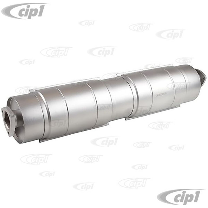 VWC-025-251-053-NSS - (025251053N) - HIGH QUALITY STAINLESS STEEL REPLACEMENT MUFFLER - VANAGON 86-91 - SOLD EACH