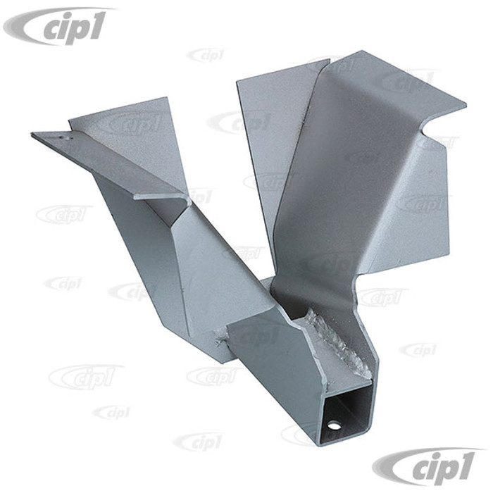 C24-211-703-631 - (211703631) - SILVER WELD-THROUGH HIGH QUALITY SHEET METAL - REAR JACK SUPPORT - FITS LEFT OR RIGHT - BUS 50-67 - SOLD EACH