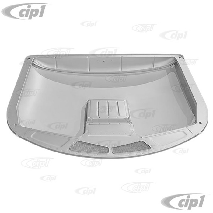 VWC-261-817-021-ACOM - (261817021A) - SILVER WELD-THROUGH HIGH QUALITY METAL - SINGLE CAB COMPLETE ROOF WITH AIR-BOX - BUS PICK-UP 55-67 - SOLD EACH