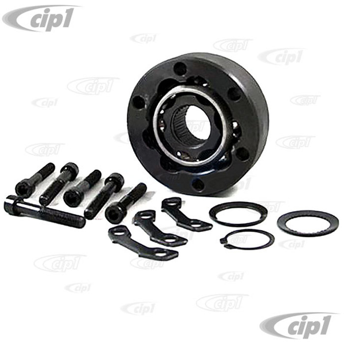 VWC-113-501-331-ECK - (113501331) GOOD QUALITY REPRODUCTION - 90MM CV JOINT KIT WITH HARDWARE - BEETLE 69-79 / GHIA 69-74 / TYPE-3 69-74 - RABBIT/GOLF/JETTA INNER 75-92 - SOLD KIT