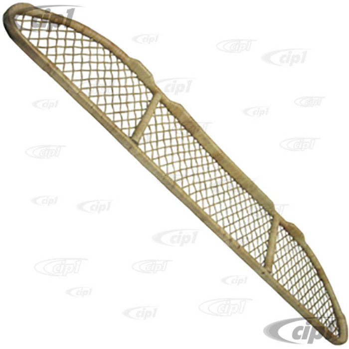 ACC-C10-1252 - DELUXE BAMBOO UNDER DASH PARCEL SHELF W/HARDWARE - READ SPECIAL NOTE BEFORE PURCHASING - ALL GHIA 56-74 - SOLD EACH
