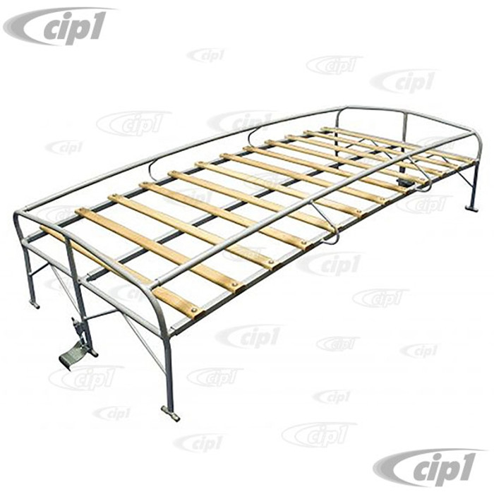 C13-15-2008 - EMPI - SHORTY ROOF RACK - APPROX. 25 INCHES LONG - FITS ALL SINGLE/DOUBLE CABS AND STANDARD BUS 52-79  - (A40)