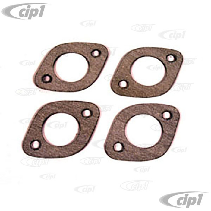 C13-3391 - EXHAUST PORT GASKETS 1-1/2 4 PC SET FOR BEETLE STYLE ENGINES